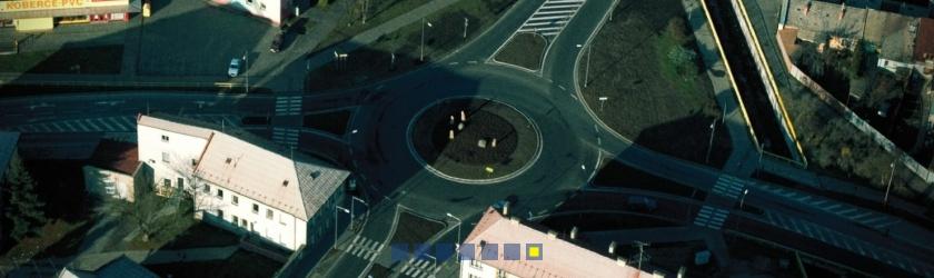 okružní křižovatka Šternberk